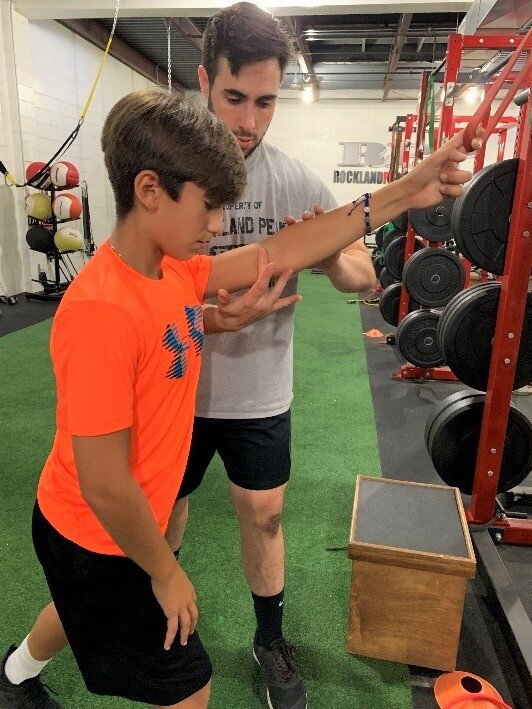 Beginner athlete training